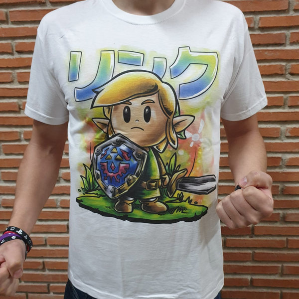 T-SHIRT - Zelda - Be Brave