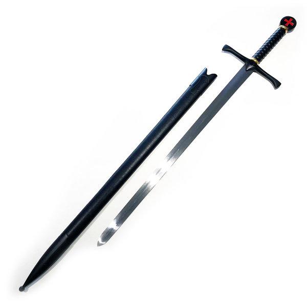 TEMPLAR - Dark Crusader Schwert - Schwarz