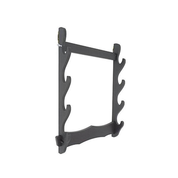 Katana Houder - Muurbevestiging - Horizontale Zwaard Display Stand - 4 lagen