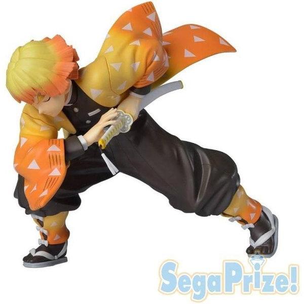 Sega Demon Slayer - Kimetsu no Yaiba - PVC Statue Agatsuma Zenitsu (Sega Prize) 14 cm