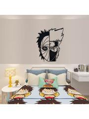 Naruto - Obito vs Kakashi - Metal Wall Art 60cm