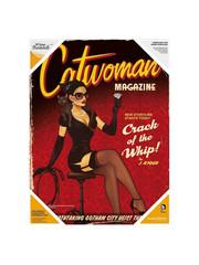 SD Toys DC Bombshells - Catwoman - Poster en verre