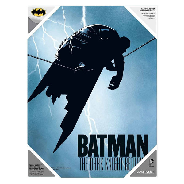 SD Toys DC Comics - Batman The Dark Knight - Glazen Poster