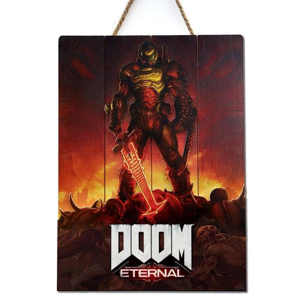 Doctor Collector Doom WoodArts 3D Wooden Wall Art Eternal 30 x 40 cm