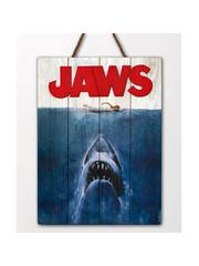 Doctor Collector Jaws - WoodArts 3D - Houten wanddecoratie Haaienaanval 30 x 40 cm