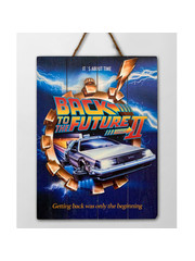 Doctor Collector Back to the Future 2 - WoodArts 3D - Wooden Wall Art - It's about time 30 x 40 cm