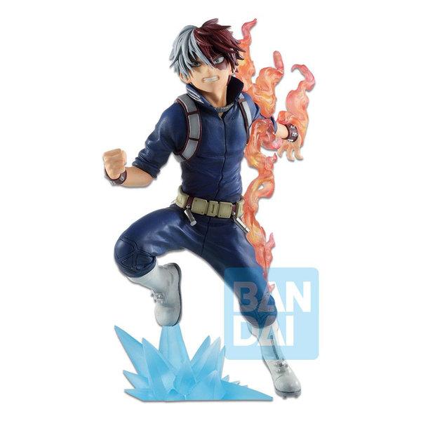 Bandai My Hero Academia - Shoto Todoroki - Ichibansho PVC Figur (Go and Go!) 18 cm