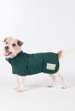 Dog Drying Coat - Bottle Green