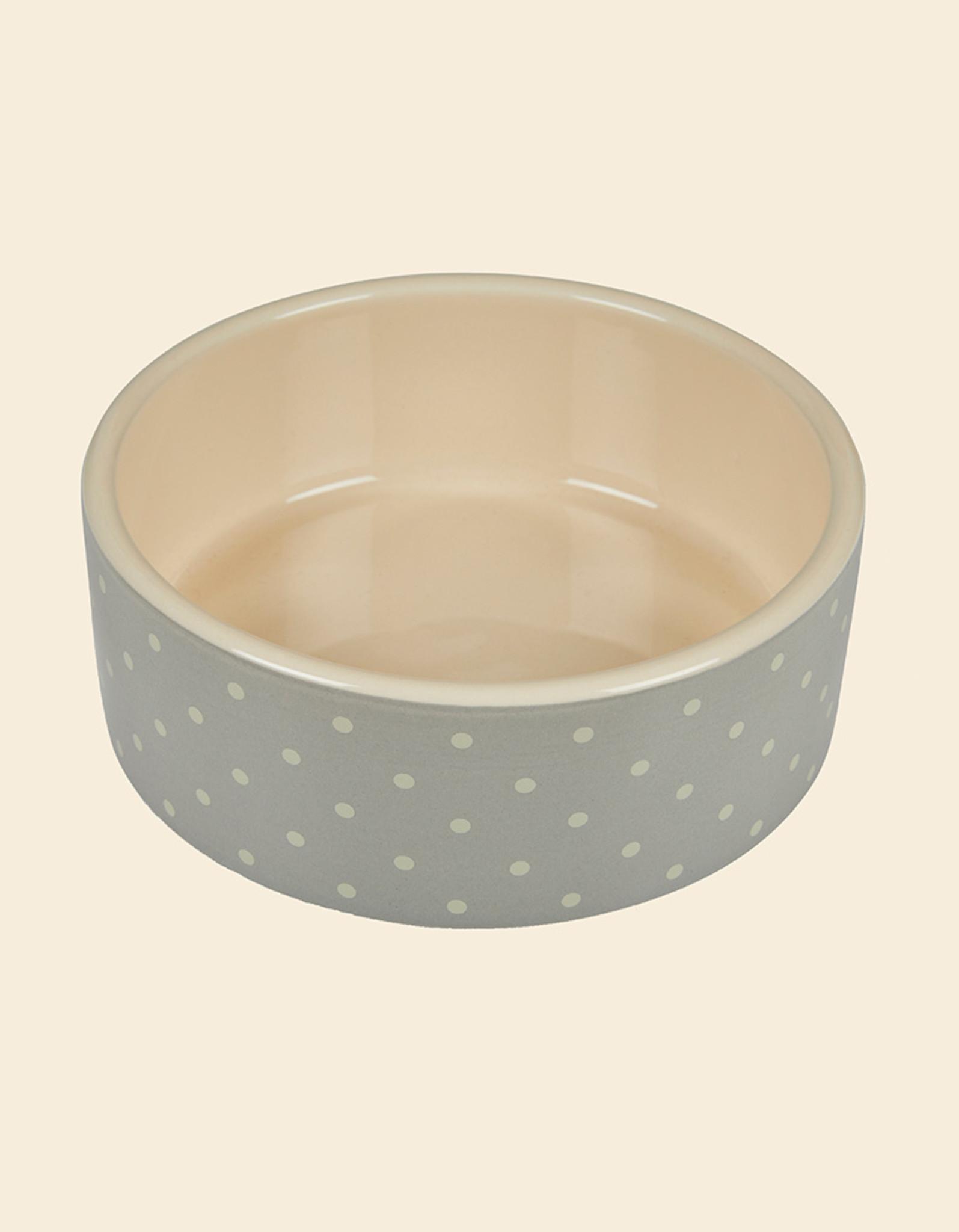 Ceramic Dog Bowl | Dots