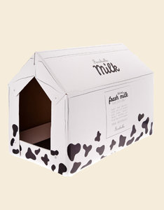 Milk Carton Cat House