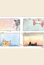 Placemat Katten