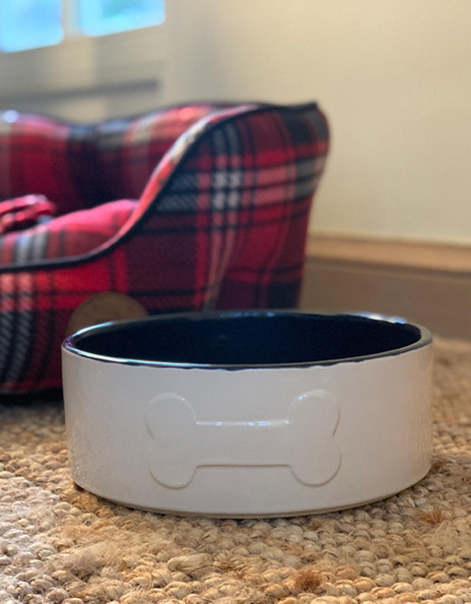 Ceramic Dog Bowl | Navy
