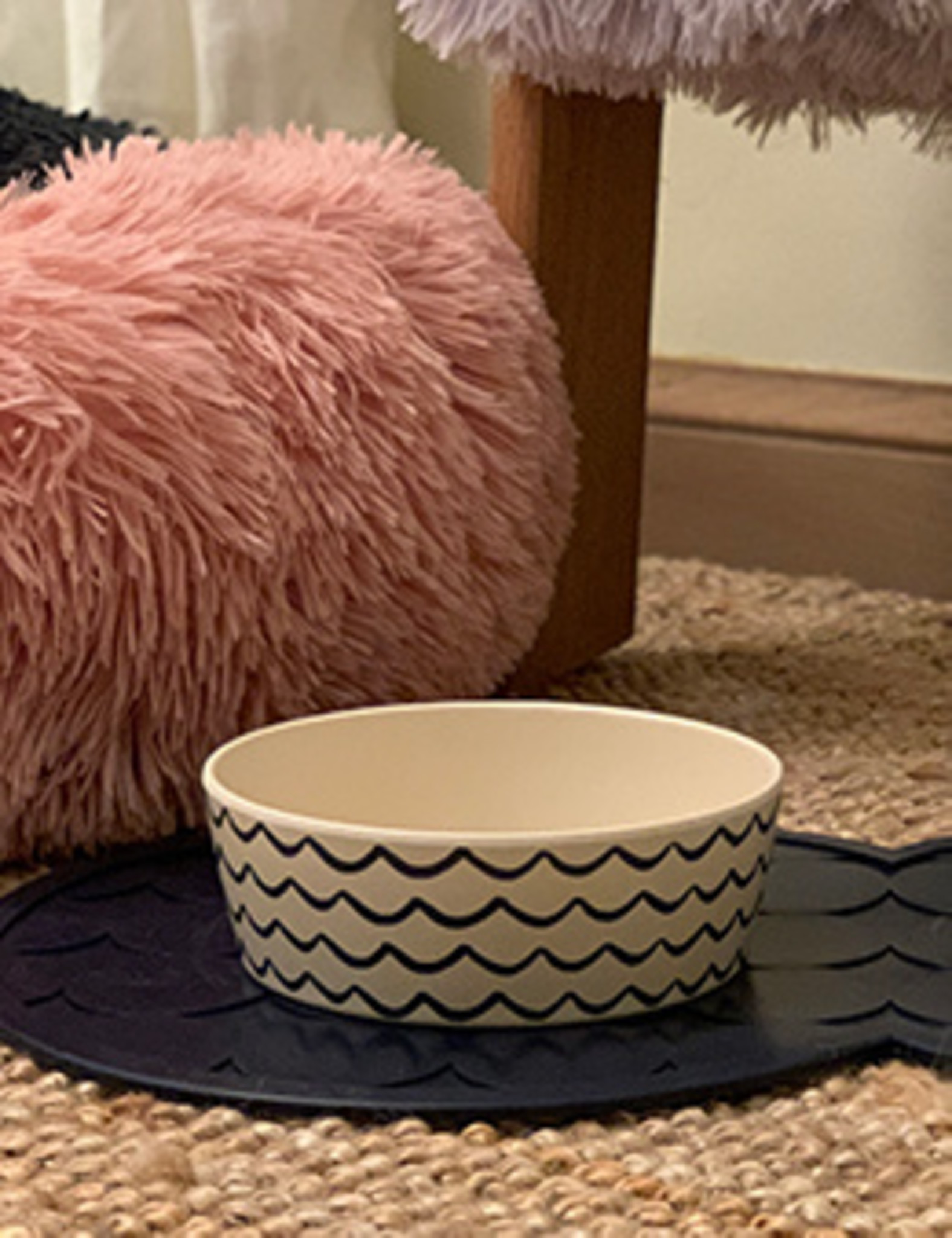 Bamboo Dog Bowl