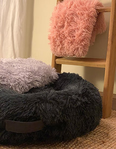 Fluffy Donut Bed | Antracite