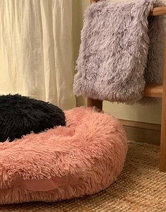 Fluffy Donut Bed | Pink