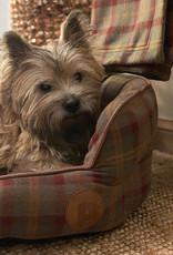Hondenmand met Ruitjesmotief - LAATSTE STUKS !