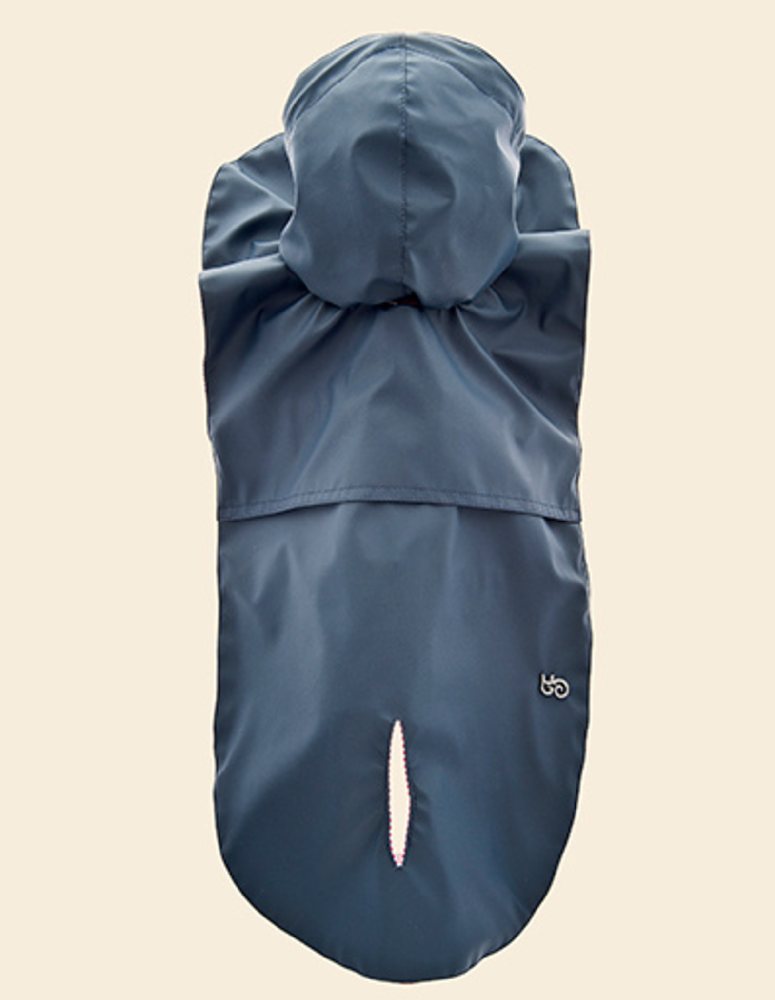 Blue Raincoat for Dogs with hood | Ferribiella