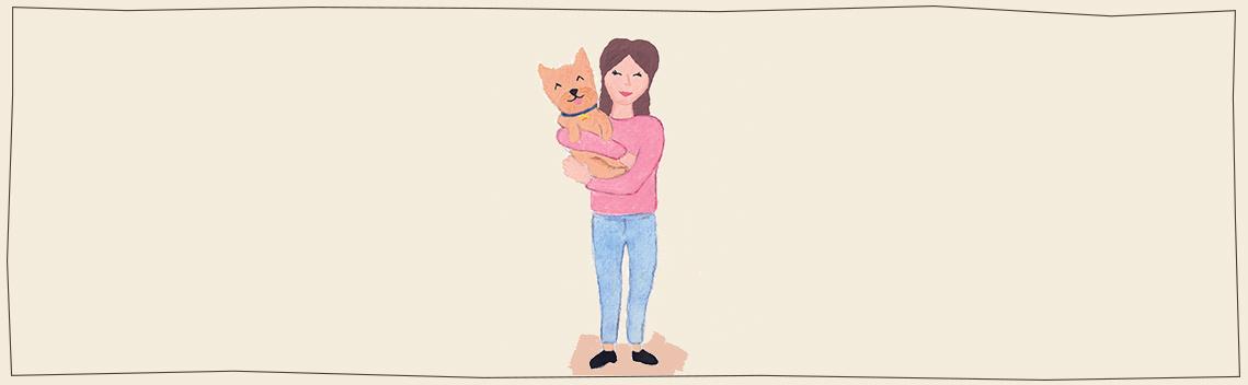 scrunchie mens bijpassend bij halsband hond