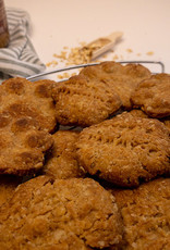 Oatmeal Cookies with Peanut Butter & Honey
