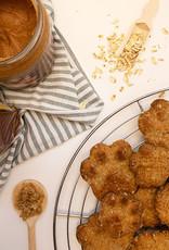 Haverkoekjes met Pindakaas & Honing