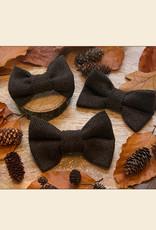 Tweed Strikje | Donker Bruin