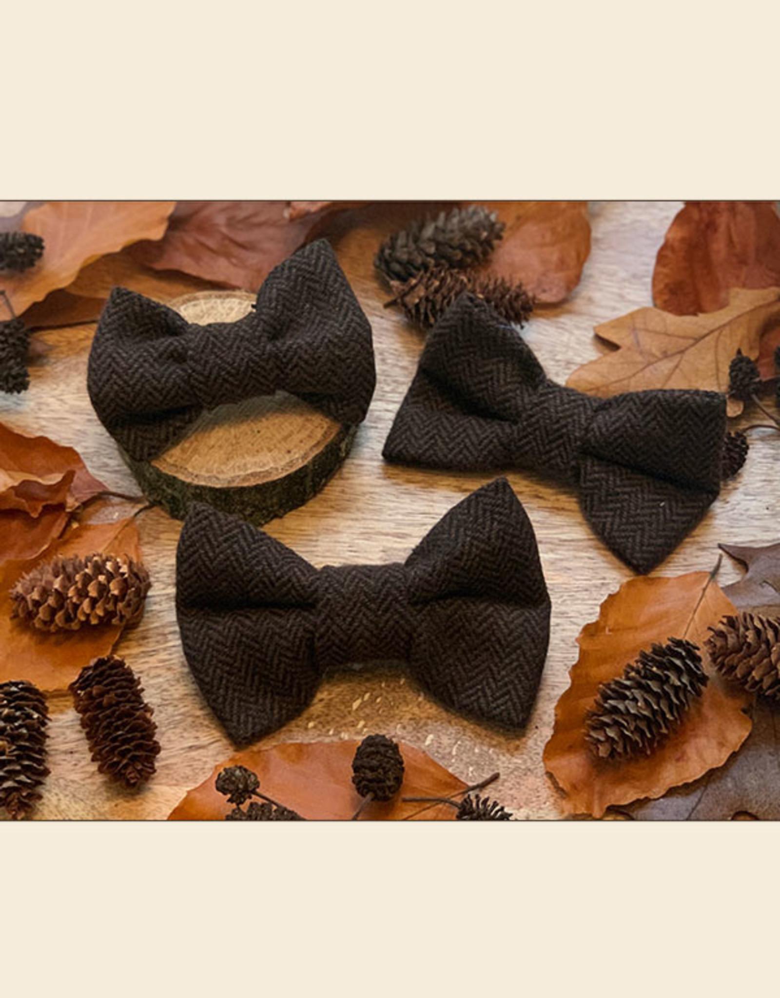 Tweed Bow Tie | Dark Brown