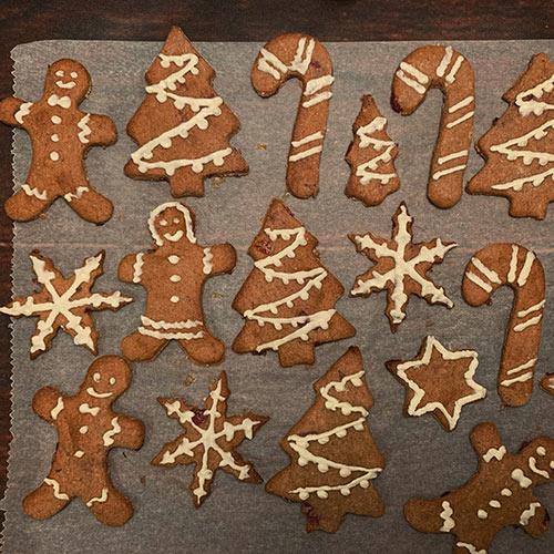 Kerstkoekjes met Veenbessen en Kaneel