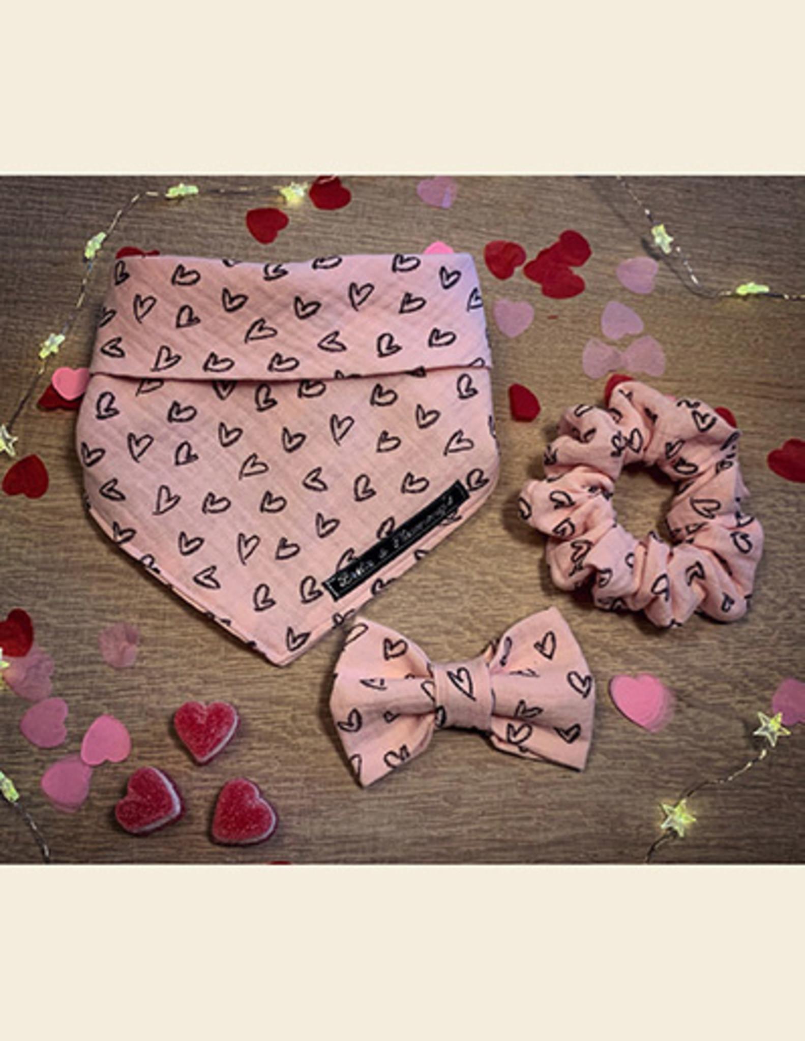 Bandana | Mijn Hartendiefje - Roze