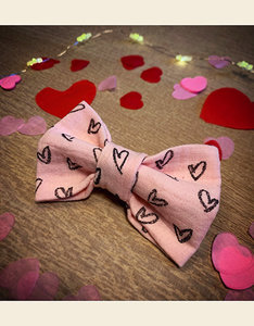 Strikje | Mijn Hartendiefje - Roze