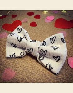 My Sweetheart | Bow Tie - White