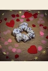 My Sweetheart | Scrunchie - White