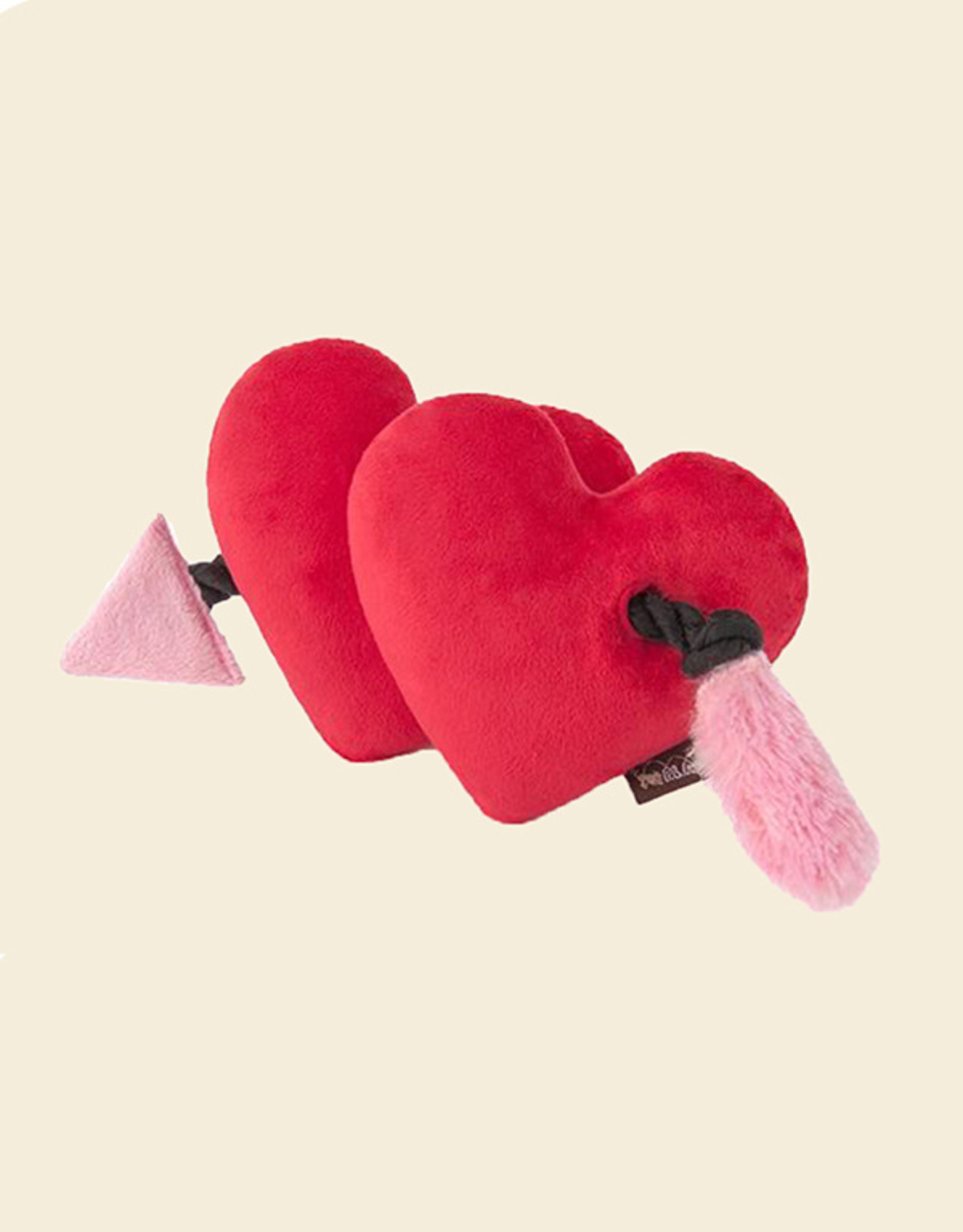 Fur-Ever Hearts | Soft Dog Toy