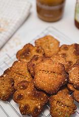 Naamkoekjes  met Pindakaas & Honing