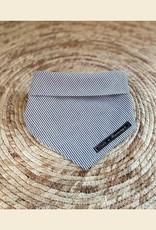 Bandana | Gray Blue Stripes