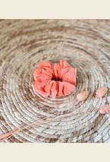 Scrunchie | Little Salmon | Bio Cord Nicky Fabric