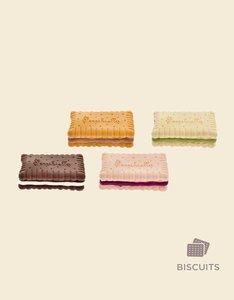 Petit Beurre Koekje | Latex Speeltje (beschikbaar in 4 kleuren)