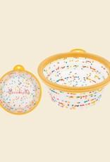 Foldable Dog Bowl | Confetti