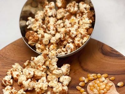 Recipe   PUPcorn with Peanut Butter