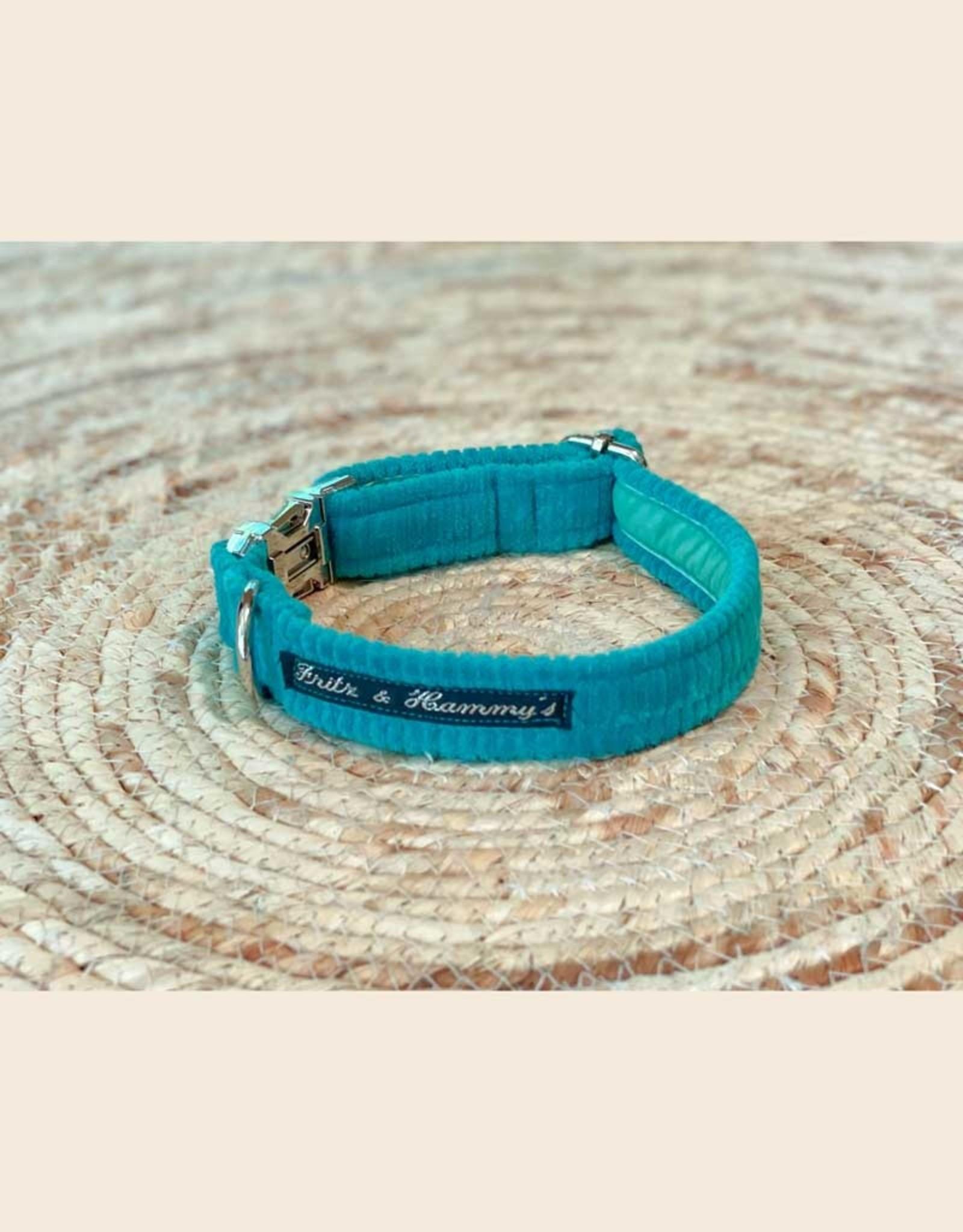Dog Collar | Mojito | Bio Cord Nicky Fabric
