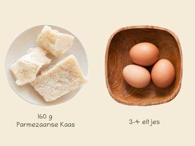 Recept   Hondenkoekjes met Parmezaanse Kaas & Ei