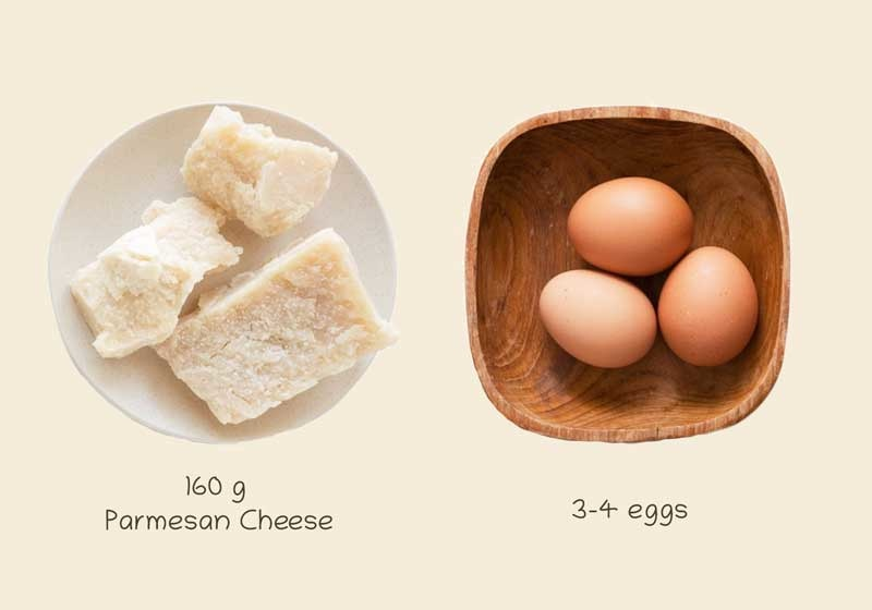 Recipe | Dog Treats with Parmesan Cheese & Eggs