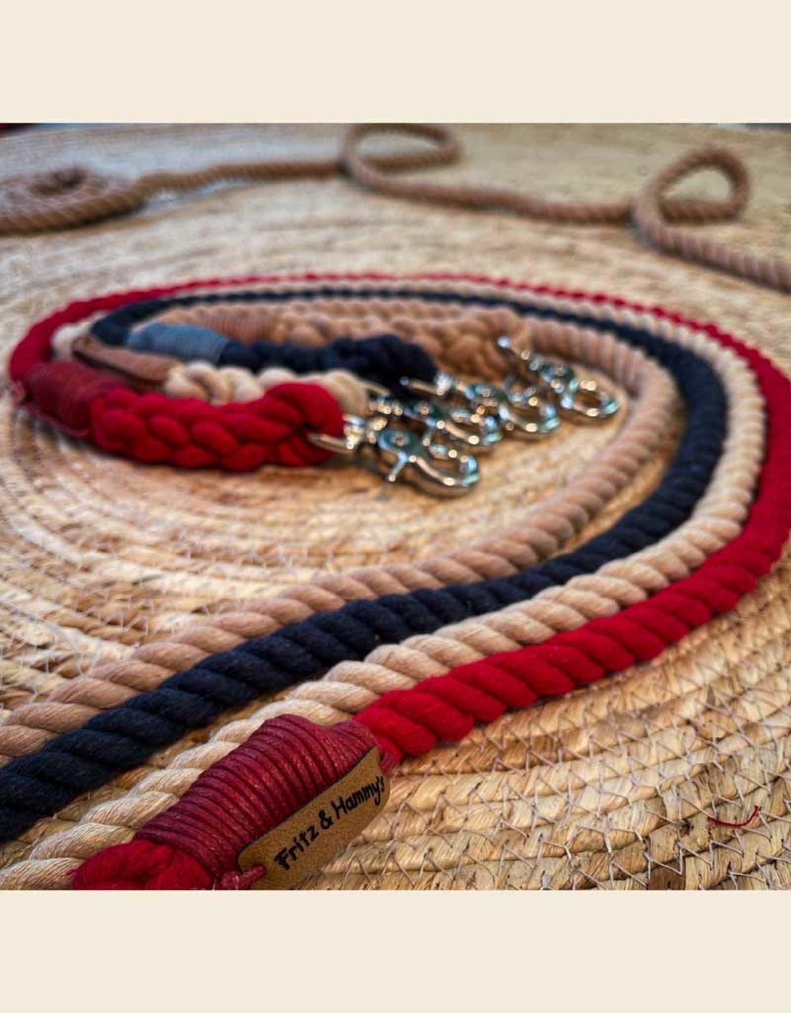 Dog Leash Cotton Rope l Naturel