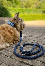 Dog Leash Cotton Rope l Night Blue