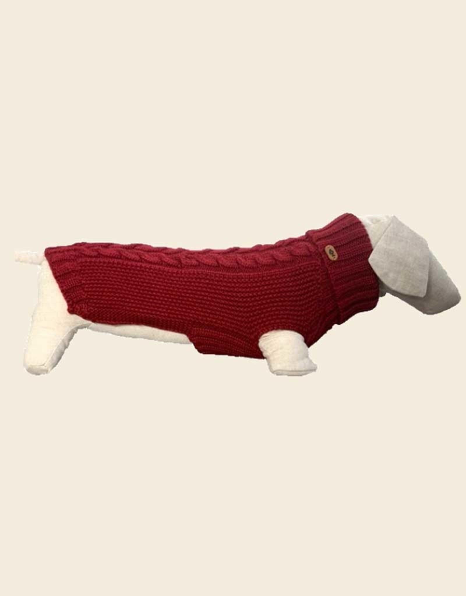Comfy Jumper 100% Merino Wool   Burgundy