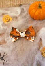 Halloween Strikje Oranje   Haunted Halloween