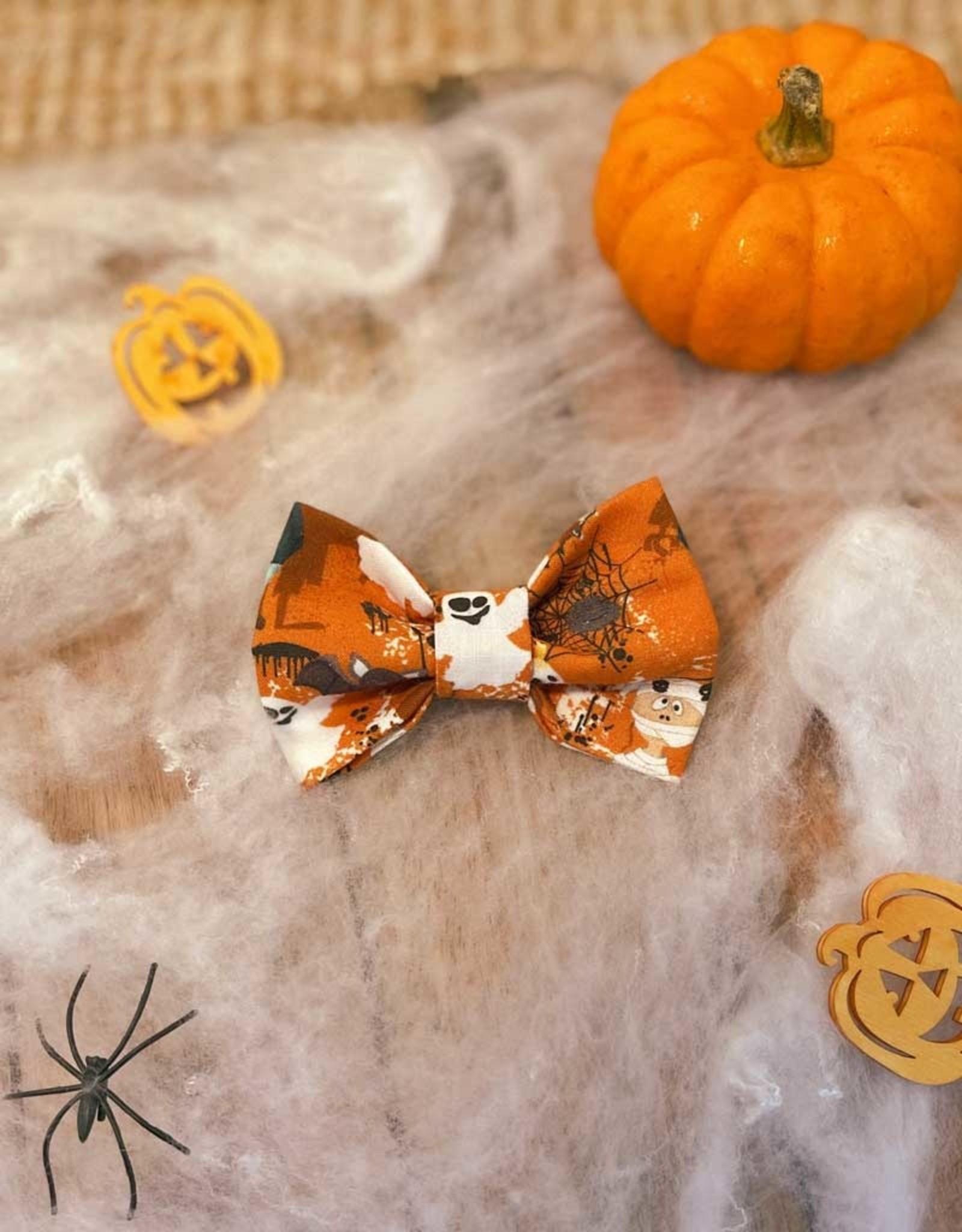 Halloween Bow Tie Orange | Haunted Halloween