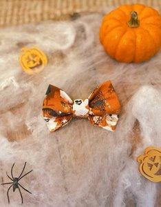 Halloween Strikje Oranje | Haunted Halloween
