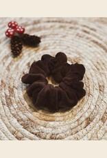 Scrunchie | Brown Velvet