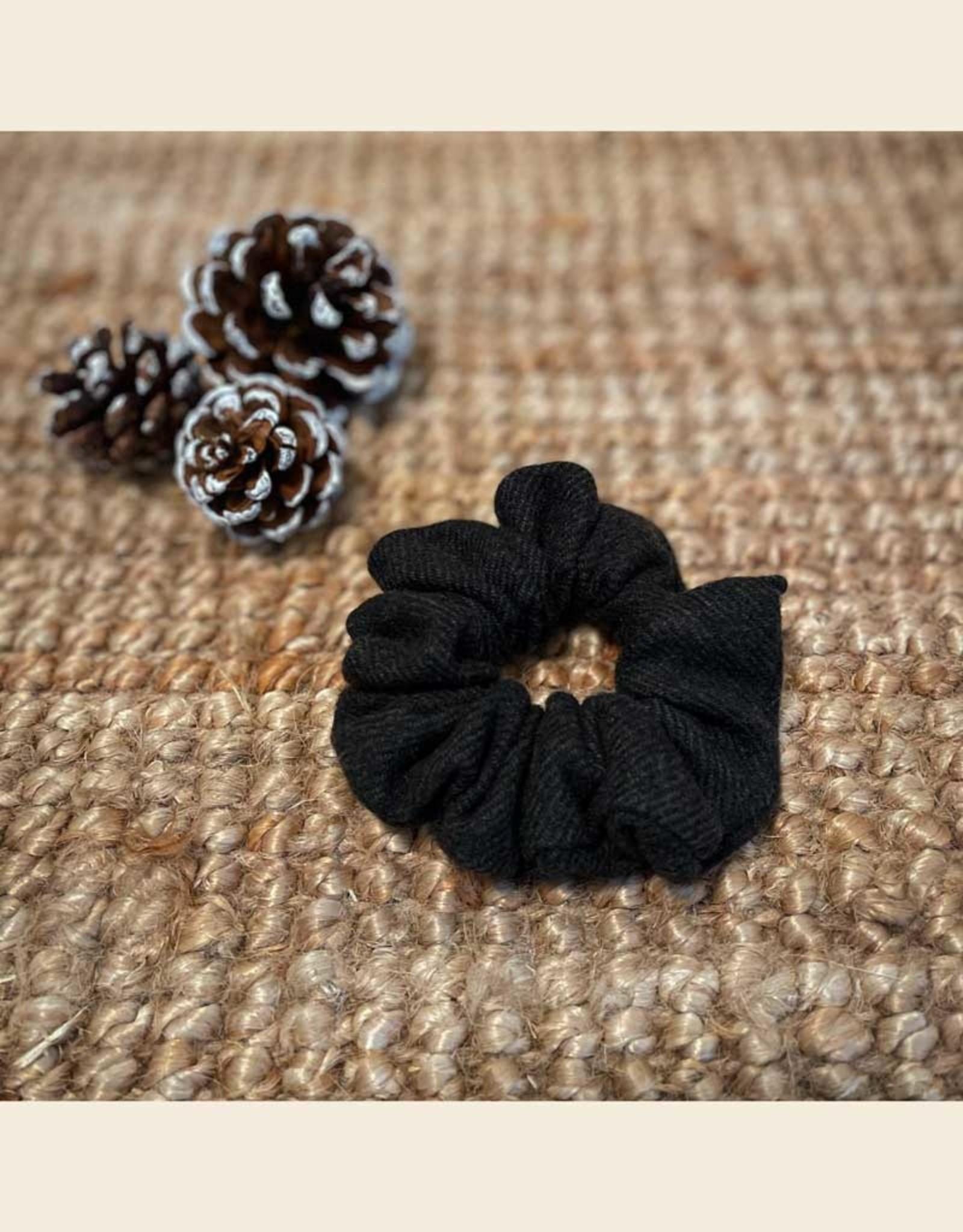 Scrunchie | Green Woolblend