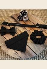 Bow Tie   Green Woolblend